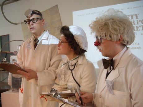 dusty flowerpot scientists