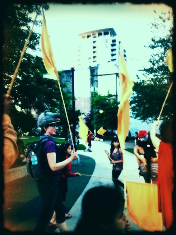flagparade
